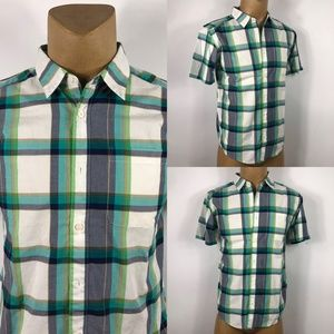 Patagonia Organic Cotton Checkered Shirt Mens SZ M